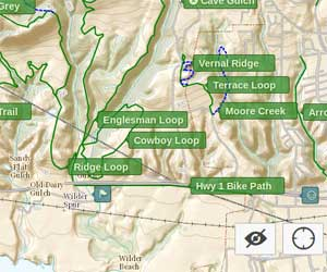 Wilder Ranch Map