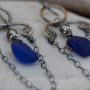 Luna Sea Designs jewelry, available at the Friends of Santa Cruz State Parks Holiday Sale this weekend, is made from materials found on Santa Cruz beaches.