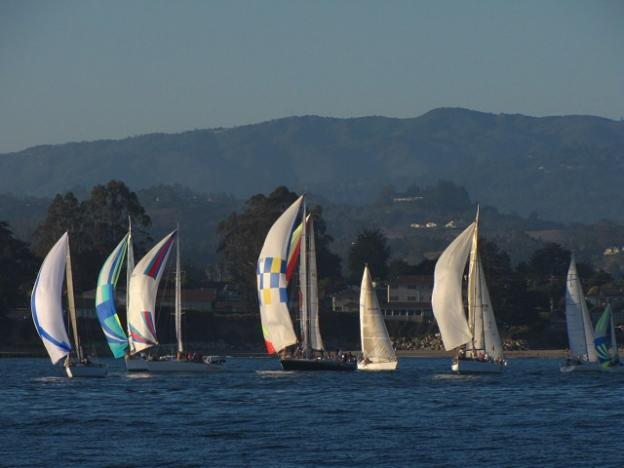 Wednesday night sailboat races: truly beautiful. Photo by Michael Roberts.