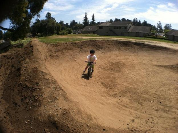 One reason for the pump track phenomenon: city councils like the idea of a safe place for kids to go. Photo courtesy Epicenter Cycling.