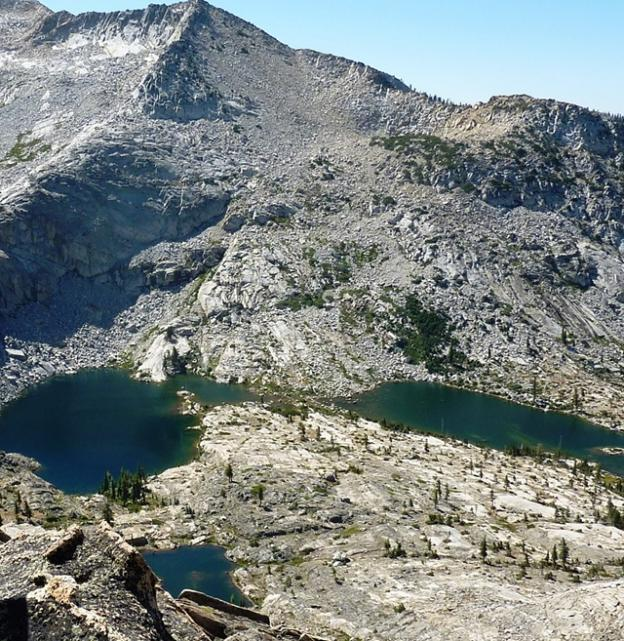 View of Twin Lakes. Photo by Brooke Wright.