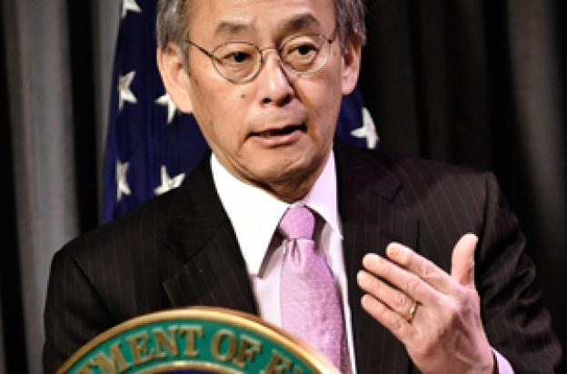 Dr. Steven Chu — Energy Secretary. Photo by Charles Watkins/Energy Department.