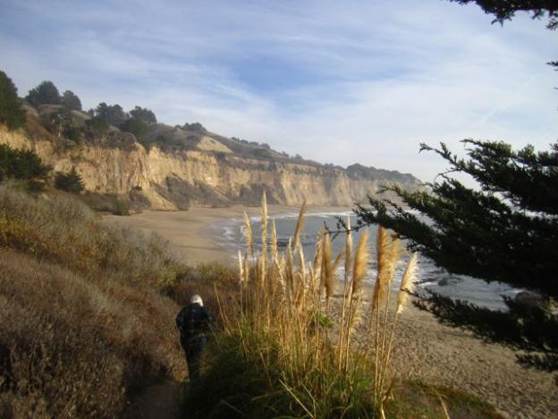 Lots of wide-open sand awaits your MLK Day pleasure at Greyhound Rock. Hilltromper photo.