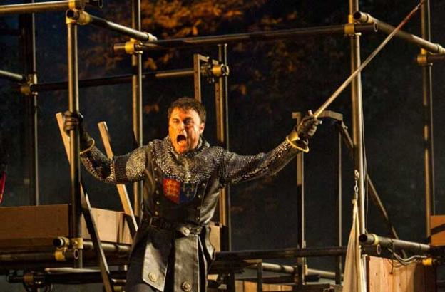 Charles Pasternak played Henry V with ferocity and sensitivity.