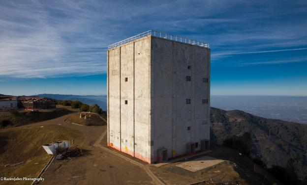The radar tower in its current condition. © Copyright Basim Jaber - Almaden AFS Archives – AlmadenAFS.org