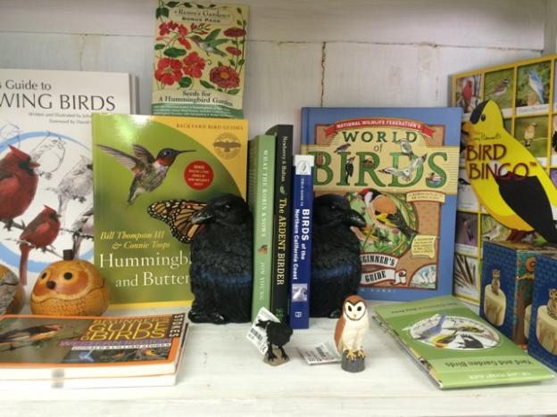 The Bird Shelf has something for birding enthusiasts of every level.