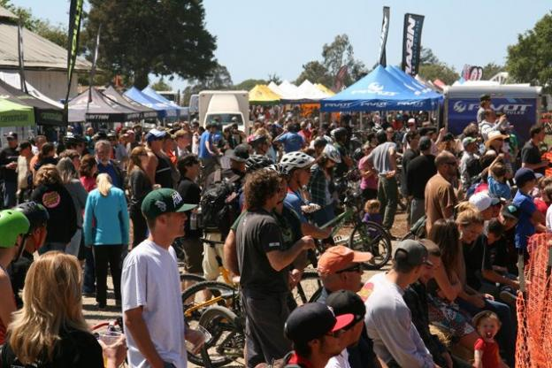 Visitors to the 2013 Santa Cruz Mountain Bike Festival, presented by the Mountain Bikers of Santa Cruz, packed the Aptos venue last year.