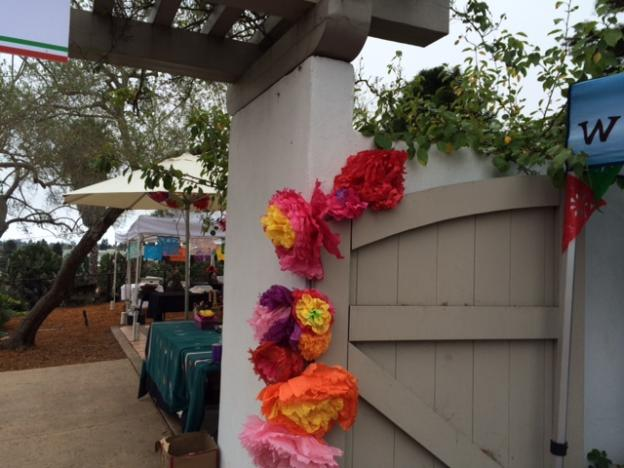 Morning of the Mole and Mariachi Festival at Mission Adobe.