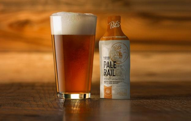 Pat's Pale Rail: it's mighty good on the trail.