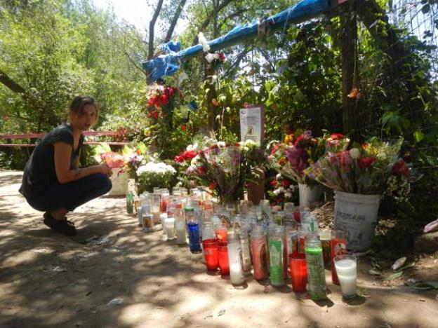 The Virgin of Pinto Lake appeared toAnita Contreras Mendoza on June 17, 1992. This shrine sprouted up almost overnight.