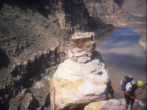 Mountaineering through the Eco Challenge in Utah.