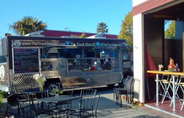 Food trucks on the levee? Maybe it could happen. Hilltromper photo.