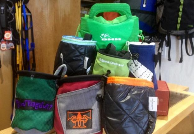 Fynd Fredum Chalk Bags! At Pacific Edge.