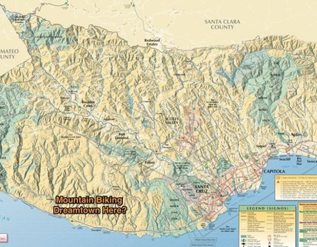 Mountain Bikers of Santa Cruz ask: What would your mountain biking dreamtown look like?