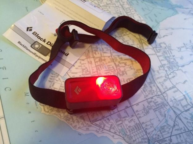 On-off buttons are so yesterday. This Black Diamond headlamp operates by swipe touch.