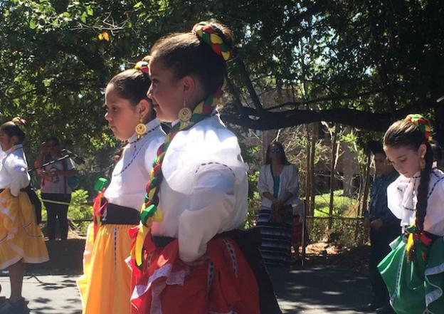 Young dancers at Mole & Mariachi 2015. Hilltromper photo.