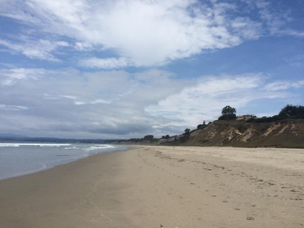 Manresa State Beach: a great place to leave the crowd behind.