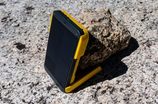 Wakawaka Solar Charger for camera, GPS, etc.
