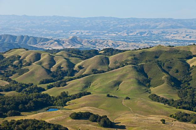 Overhead view of Star Creek Ranch by Land Trust of Santa Cruz County. Photo credit: William K Matthias.