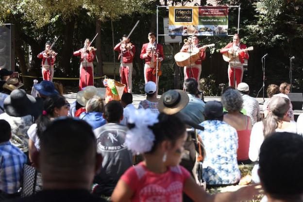 Mariachis at the 2015 festival. Photo courtesy FoSCSP.