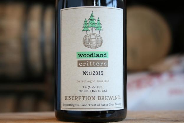 Woodland Critters sour ale goes on sale Dec. 12 at Discretion Brewing. Proceeds benefit the Land Trust.