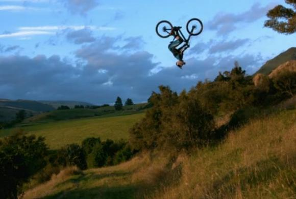 'Not Bad,' screening Sunday, stars Cam McCaul of Aptos and six other two-wheeled maniacs.