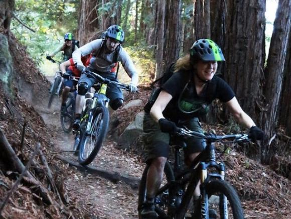 It's a singletrack smorgasbord this year at the Festival, which is just 1.5 miles from a serious network of trails.