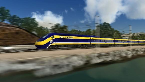 Artist's rendering of high-speed rail. Photo credit to Wikimedia Commons.