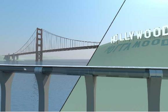 Hyperloop would take you from SF to LA in 30 minutes. For $20.