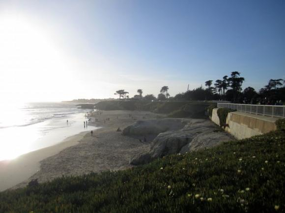 Its Beach in Santa Cruz, California