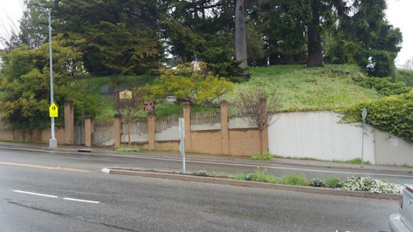 A mural contest to spruce up this retaining wall ends March 27.