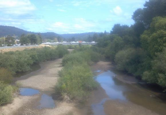 Getting Our Sh*t Together: Several agencies and organizations test water quality on the river. But only now are they sharing information with an eye toward cleaning up the San Lorenzo. Hilltromper photo.