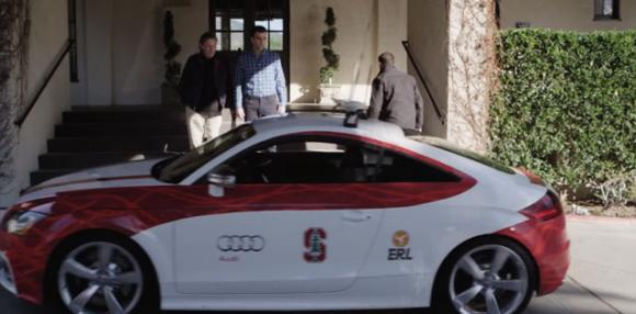 Shelly, Stanford's self-driving racecar