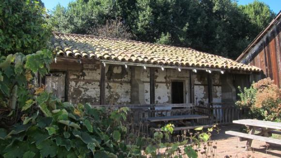 The Bolcoff Adobe, the oldest building at Wilder, dates back to 1840.