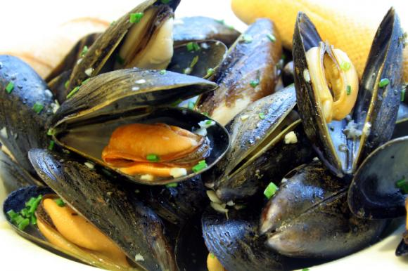 Steamed mussels: good tasting, and now good for the planet too.