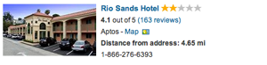 Hotels - Rio Sands