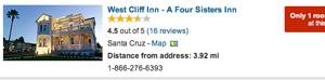 West Cliff Inn