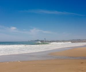 It doesn't get much better than Twin Lakes State Beach on a sunny day. Photo by Eric Ressler.