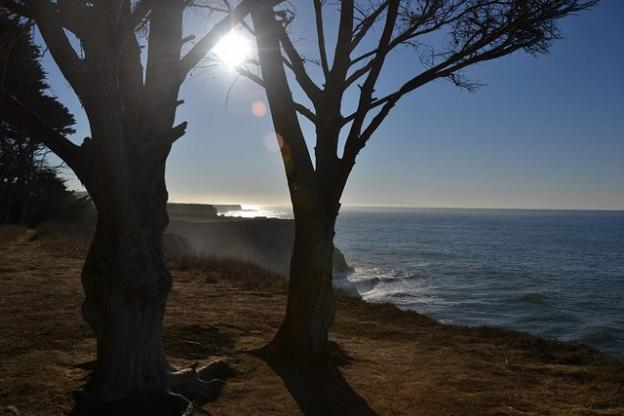 The view from the Davenport Bluffs, managed by the Land Trust since 2001. Photo courtesy Land Trust.