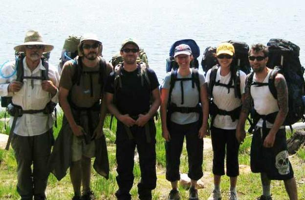 Backpacking trips with Adventure Out can lead to amazing places and new friends.