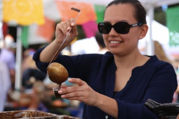 Six chefs will bring their best to the Mole & Mariachi Festival on Saturday, Sept. 19, so festivalgoers would be wise to eat a small breakfast. Friends of Santa Cruz State Parks photo.