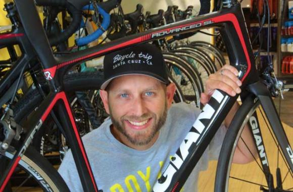 Longtime store manager Aaron Jacobs joined the Bicycle Trip ownership group in January 2014.