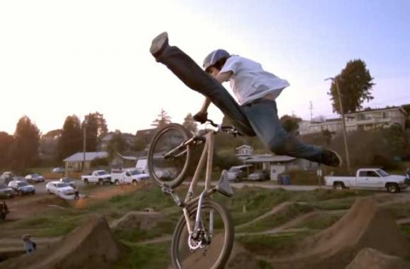 """The Post Office Jump Park nurtured some of the best riders in the sport, and became an international destination. From """"Strength in Numbers"""" by Anthill Films."""