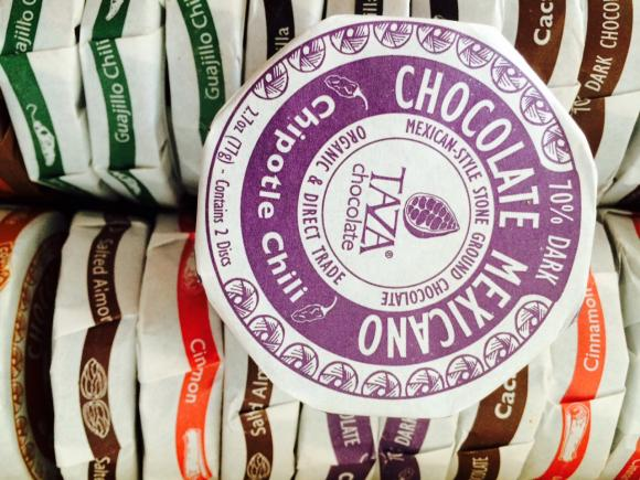 Because no one ever says, 'No thanks, I have enough organic fair trade Mexican chocolate in exotic flavors.' No one.
